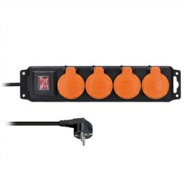 Solight prodlužovací kabel 3m 4 zásuvky vypínač