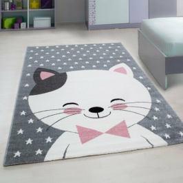 Vopi Kusový dětský koberec Kids 550 pink, 120 x 170 cm