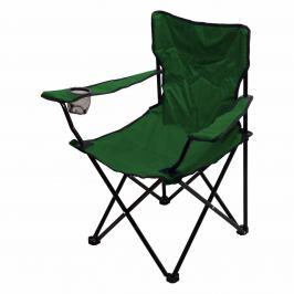 Cattara Židle kempingová skládací BARI zelená