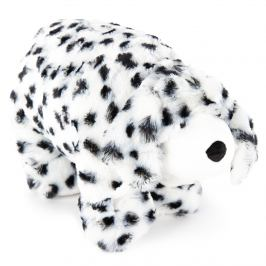 Bo-Ma Trading Plyšový dalmatin s knoflíkem, 35 x 45 cm