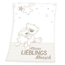Herding Dětská deka Fynn Lieblings, 75 x 100 cm