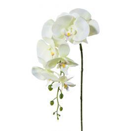 Umělá Orchidej bílá, 86 cm 305303-50