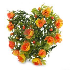 Umělé květiny růže, 30 cm, HTH