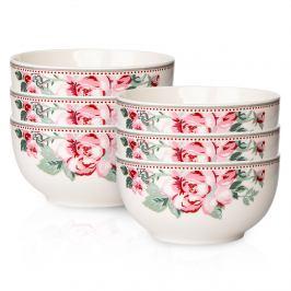 Altom 6dílná sada porcelánových misek , Paris Rose,