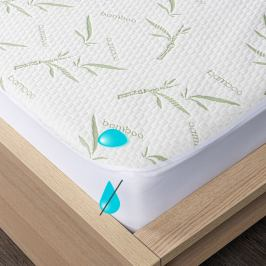 4Home Bamboo Nepropustný chránič matrace s lemem, 200 x 200 cm