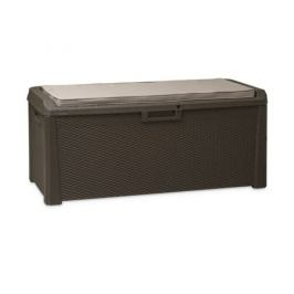 Multifunkční úložný box Santorini Plus hnědá, 560 l