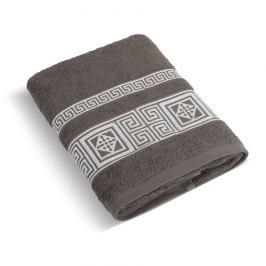 Bellatex Froté ručník Řecká kolekce hnědá