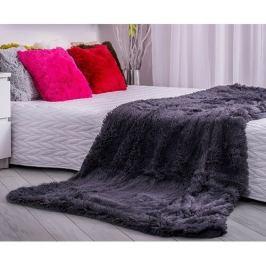 Domarex Deka XXL / Přehoz na postel Corona šedá, 200 x 220 cm