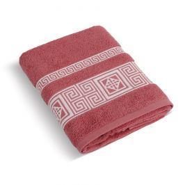Bellatex Froté ručník Řecká kolekce terrakota, 50 x 100 cm
