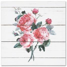 Obraz na plátně Roses, 28 x 28 cm