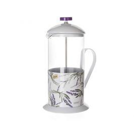 Banquet Konvice na kávu Lavender 1 l, bílá
