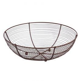Košík na ovoce drát pr. 30 cm BROWN ORION