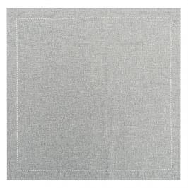 BO-MA Trading Ubrus šedá, 85 x 85 cm
