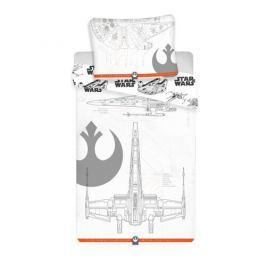 Jerry Fabrics Bavlněné povlečení Star Wars Vehicles 2019, 140 x 200 cm, 70 x 90 cm
