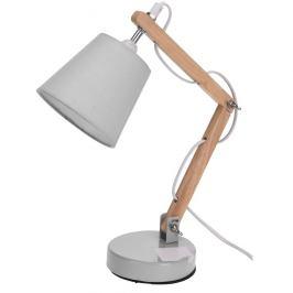 Koopman Stolní lampa Pastel tones bílá, 45 cm