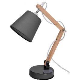 Koopman Stolní lampa Pastel tones šedá, 45 cm