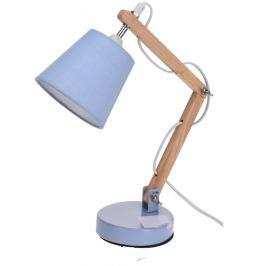Koopman Stolní lampa Pastel tones modrá, 45 cm
