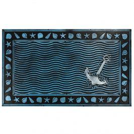 BO-MA Trading Gumová rohožka Podmořský svět, 40 x 60 cm