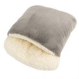 BO-MA Trading Beránkový rukávník šedá