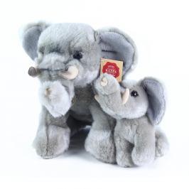 Rappa Plyšový slon s mládětem, 27 cm