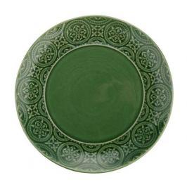 Florina Keramický dezertní talíř Nadine 20 cm, zelená