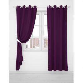 Domarex Závěs Smart Velvet fialová tape violet, 135 x 250 cm