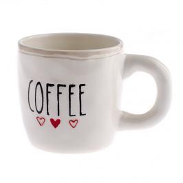Keramický hrnek Coffee 400 ml, bílá