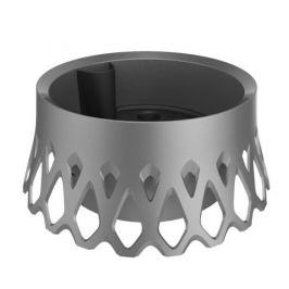 Plastia Samozavlažovací žardina Roseta - 30 cm stříbrná