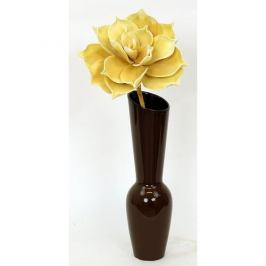 Keramická váza Bermea, hnědá