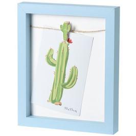 Fotorámeček Mackay modrá, 19 x 23 cm