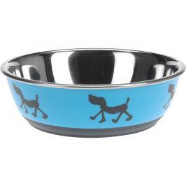 Miska pro psa Doggie treat modrá, pr. 17,5 cm