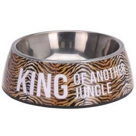Miska pro psa Lovely pets King, hnědá