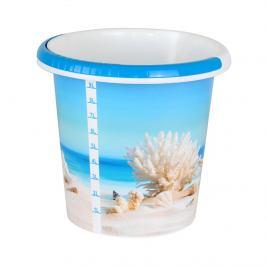 Kbelík s dekorem 10 litrů, more