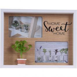 Fotorámeček Home sweet home, 24 x 31 x 3,5 cm