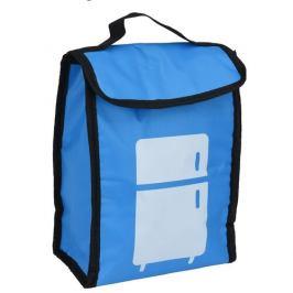 Chladicí taška Lunch break modrá, 24 x 18,5 x 10 cm
