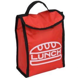Chladicí taška Lunch break červená, 24 x 18,5 x 10 cm