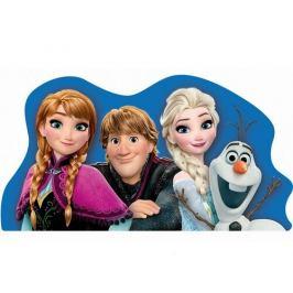 Jerry Fabrics Tvarovaný polštářek Ledové království Frozen, 34 x 30 cm