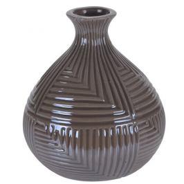 Váza Loarre hnědá, 12,5 x 14,5 cm