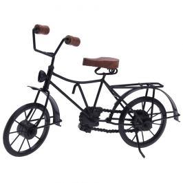 Kovová dekorace Bicyclette černá, 36 x 11 x 20 cm