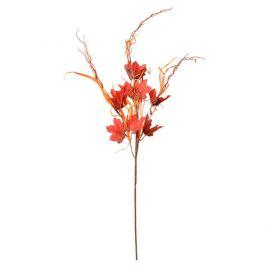 Podzimní dekorace javorová větev s trávou, v. 70 cm