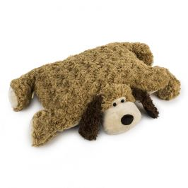 BO-MA Trading Polštářek Pes na knoflík, 35 x 45 cm, 35 x 45 cm
