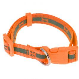 Obojek pro psa Neon oranžová, vel. S