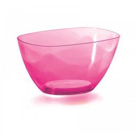 Prosperplast Dekorativní miska Coubi růžová, 20 cm