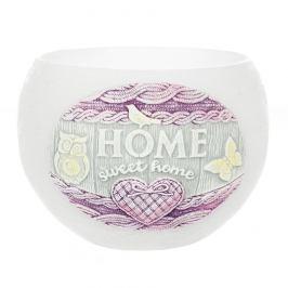 Dekorativní svíčka Bartek Candles Home sweet home - Bílá 280 g