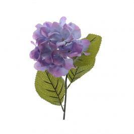 Umělá hortenzie fialová, 66 cm