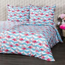 4Home Bavlněné povlečení Flamingo, 160 x 200 cm, 70 x 80 cm, 160 x 200 cm, 70 x 80 cm