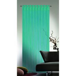 Albani Provázková záclona Cord tyrkysová, 90 x 245 cm