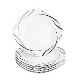 Domestic 6dílná sada dezertních talířů Oslo