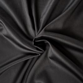 Kvalitex prostěradlo satén černé, 160 x 200 cm
