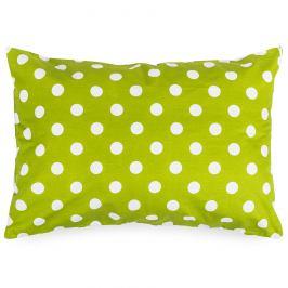 4Home Povlak na polštářek Zelený puntík